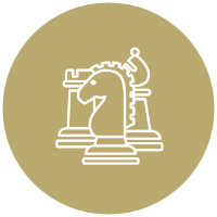 Icon of chess pieces