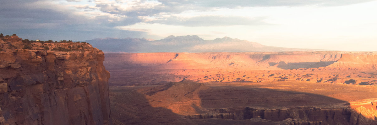 The vast expanse of Canyonlands National Park