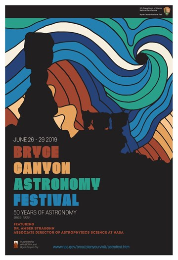 The poster for the Bryce Canyon Astronomy Festival