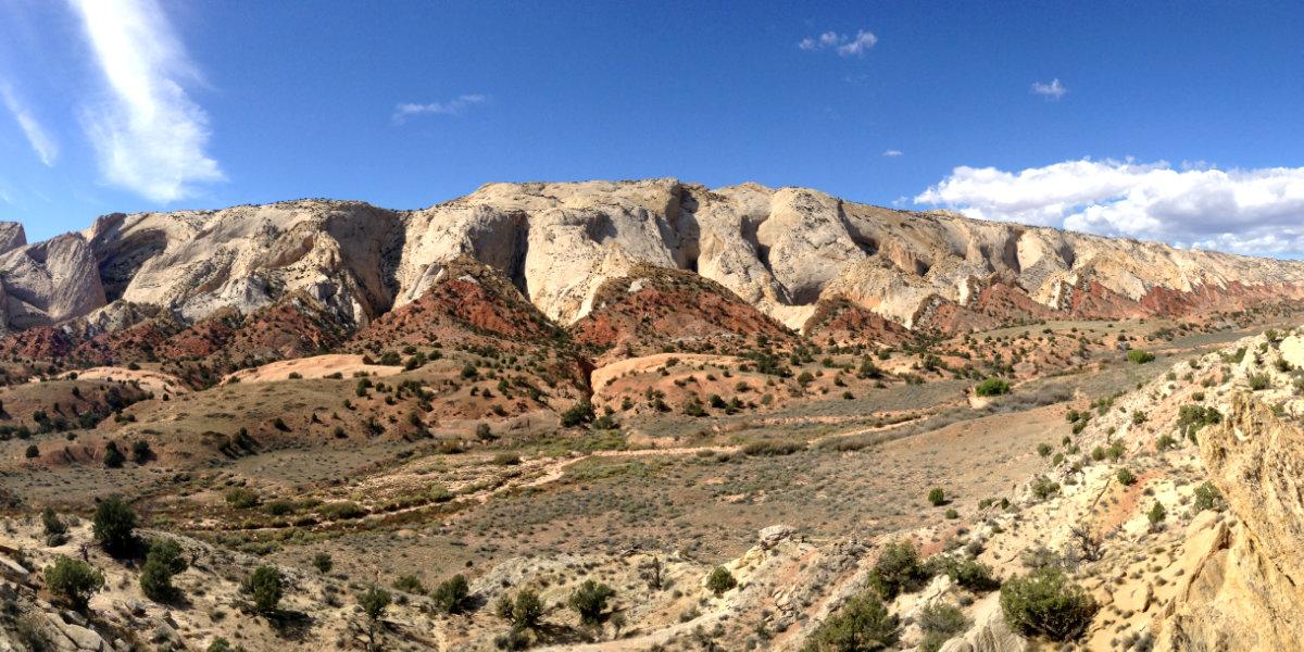 Large sandstone rock formations