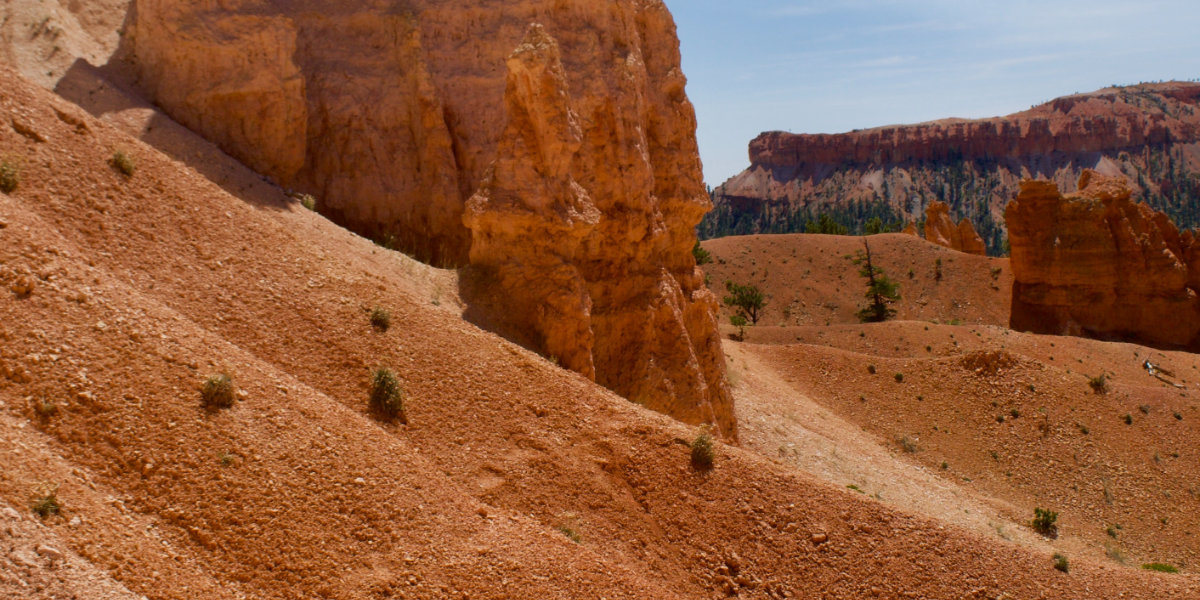 The red dunes and sandstone rocks of Kodachrome Basin