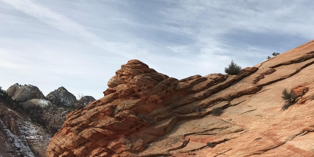 Sandstone mesa formations